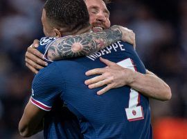 Messi and Mbappe have a stronger connection by the day at PSG. (Image: Twitter/championsleague)