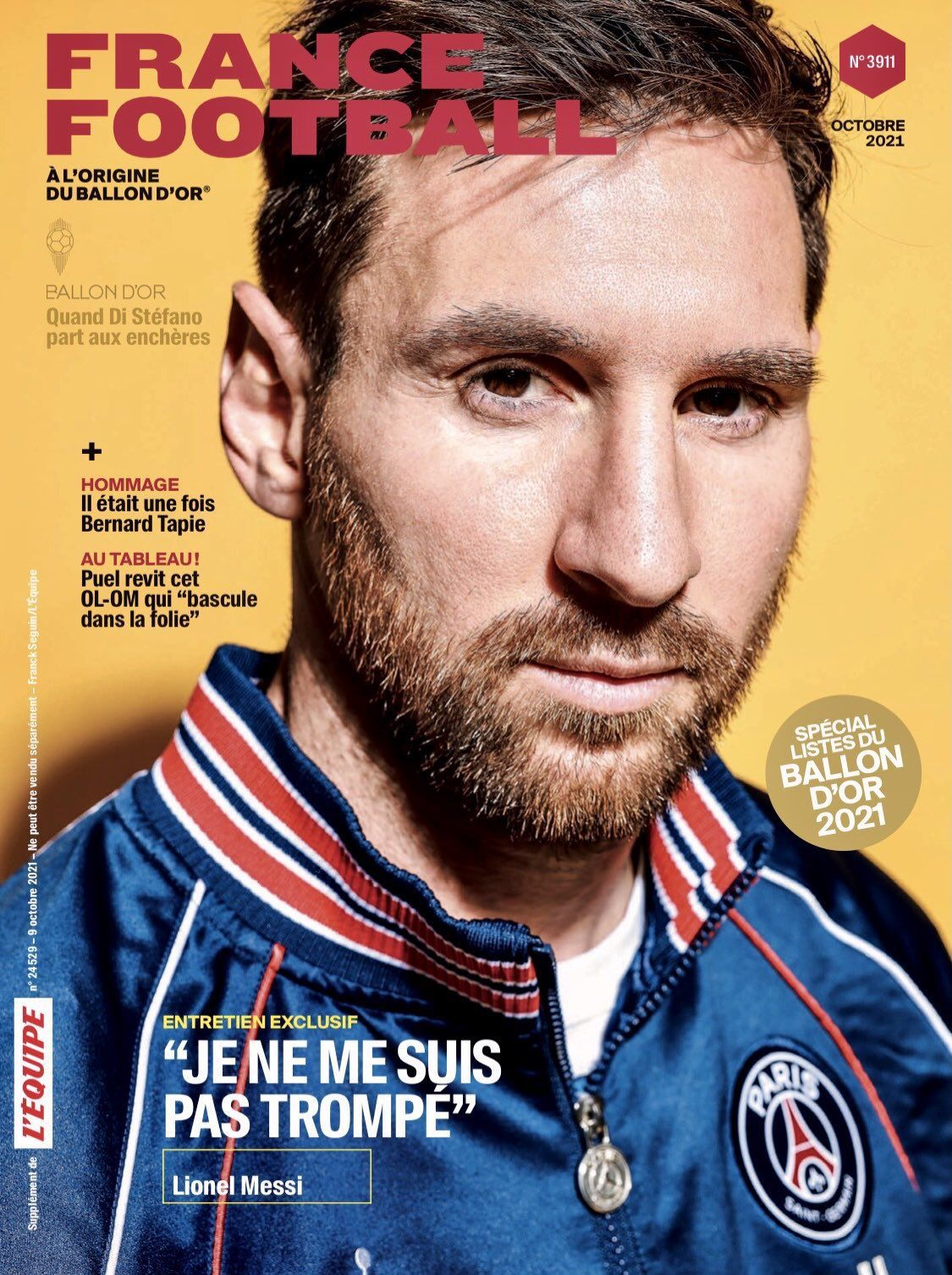 Leo Messi - France Football