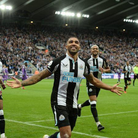 Callum Wilson scored the first goal of the new Saudi era at Newcastle. The Magpies opened the scoring after just two minutes against Tottenham but ended up losing the game 3-2, as they sit in the relegation zone. (Image: Twitter/NUFC)