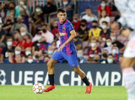 Pedri will remain a FC Barcelona player until at least 2026. (Image: Twitter/Pedri)
