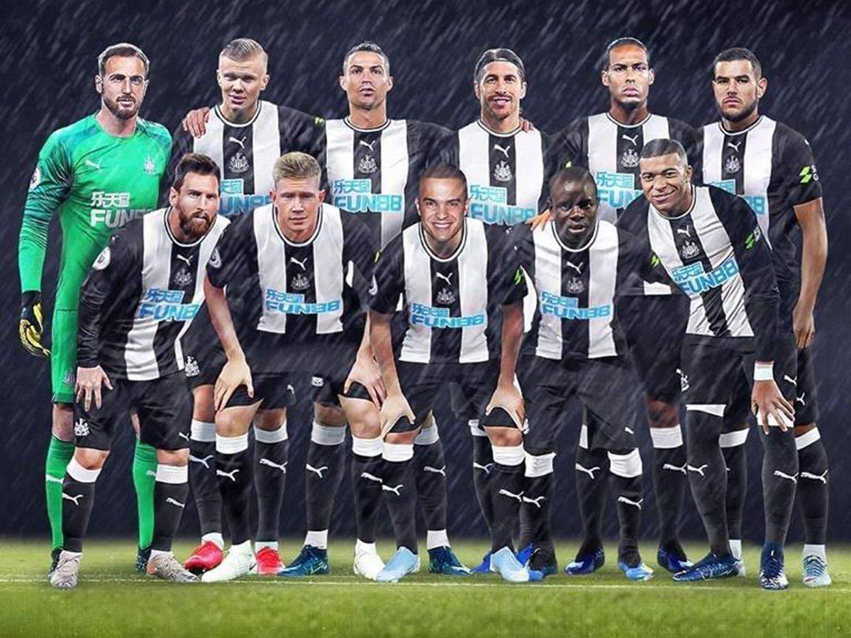 Newcastle dream team