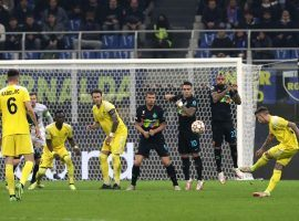 Sheriff scored a stunner against Inter Milan, but ended losing at San Siro 3-1. (Image: Facebook/FC Sheriff)