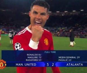 Cristiano Ronaldo goal Atalanta